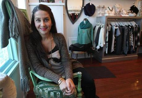 """When you're looking to change, go to your closet first,"" says Pam Santorelli, owner of the boutique Habit."